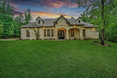 Montgomery Single Family Home For Sale: 8940 Forest Lake Drive