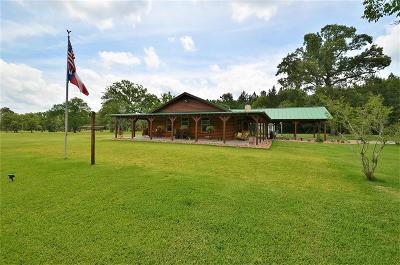 Hockley Farm & Ranch Pending: 25347 Brushy Creek Drive