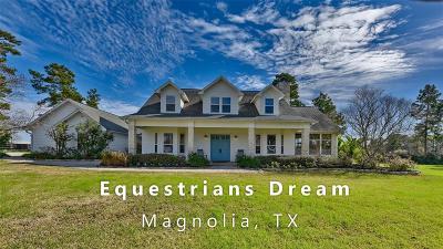 Magnolia Farm & Ranch For Sale: 32226 River Park Drive Drive