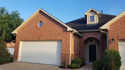 Katy Single Family Home For Sale: 922 Sweet Pine Drive