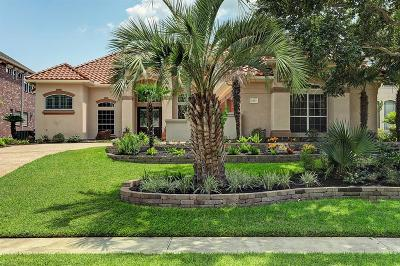 Kemah Single Family Home For Sale: 2203 Twin Oaks Boulevard