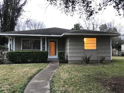 Pasadena Single Family Home For Sale: 2701 Marshall Street