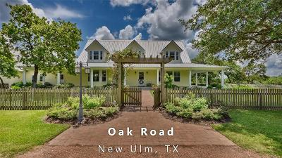New Ulm Country Home/Acreage For Sale: 22987 Oak Road