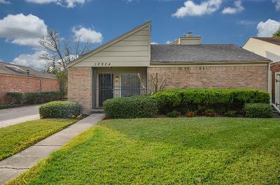 Houston Single Family Home For Sale: 10924 Julie Lane