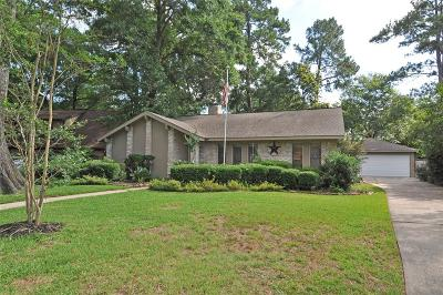 Kingwood Single Family Home For Sale: 2107 Whispering Trails