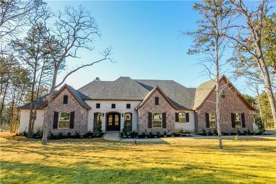 College Station Single Family Home For Sale: 5384 Majestic Oak Court