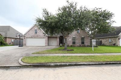 Seabrook Single Family Home For Sale: 3822 Coral Circle