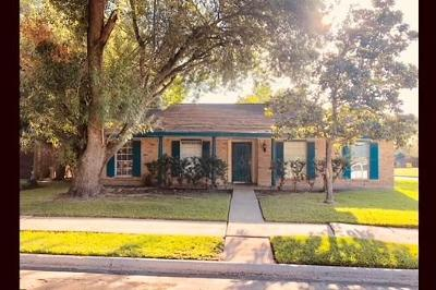 Houston Single Family Home For Sale: 7027 Briargate Drive