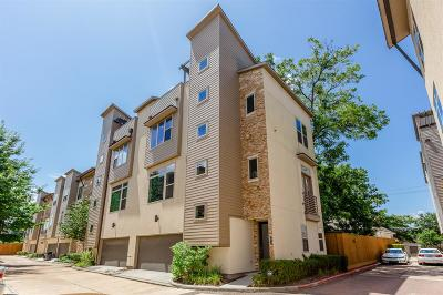 Houston Condo/Townhouse For Sale: 1435 Wagner Street