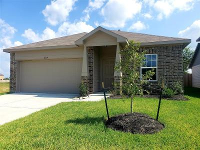 Alvin Single Family Home For Sale: 2164 Dale Street