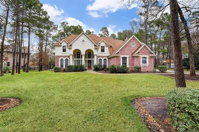 Magnolia Single Family Home For Sale: 10011 Clubhouse Circle