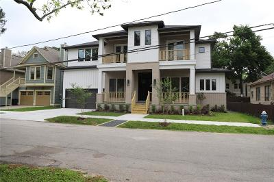 Houston Single Family Home For Sale: 1422 Lawrence Street