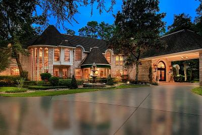 The Woodlands TX Single Family Home For Sale: $2,775,000