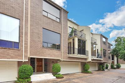 Houston Condo/Townhouse For Sale: 5638 San Felipe Street