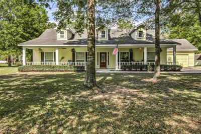 Huffman Single Family Home For Sale: 27610 E Fairway Oaks Drive