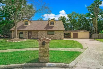 Conroe Single Family Home For Sale: 9871 Swan Court