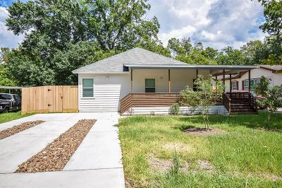Single Family Home For Sale: 6602 Carver Road