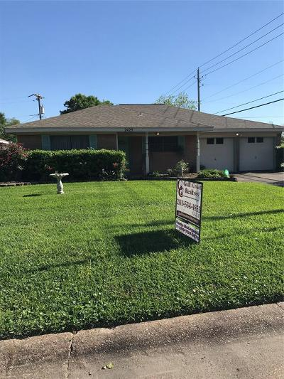 Texas City TX Single Family Home For Sale: $158,000