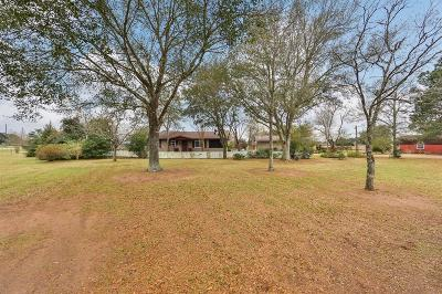 Sealy Single Family Home Pending: 6848 Kulow Road