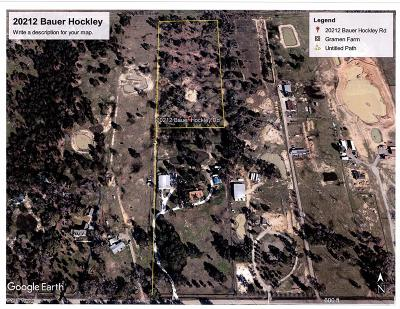 Tomball Residential Lots & Land For Sale: Tbd Bauer Hockley Road