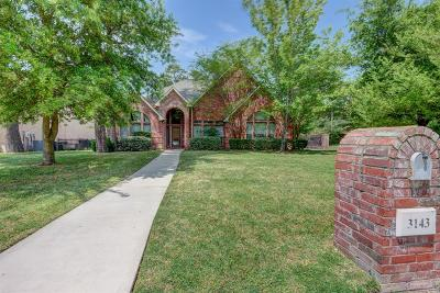 Montgomery Single Family Home For Sale: 3143 Hemingway Drive