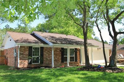 New Caney Single Family Home For Sale: 2543 Fountain View Street