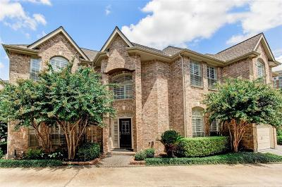Houston TX Single Family Home For Sale: $899,000