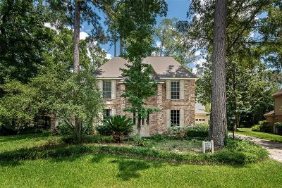 The Woodlands Single Family Home For Sale: 15 Wedgewood Forest Drive