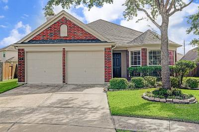 Manvel Single Family Home For Sale: 2 Buena Park Circle