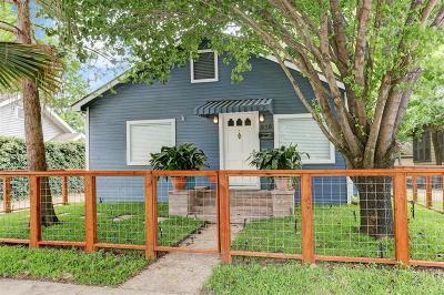 Houston Single Family Home For Sale: 616 Teetshorn Street