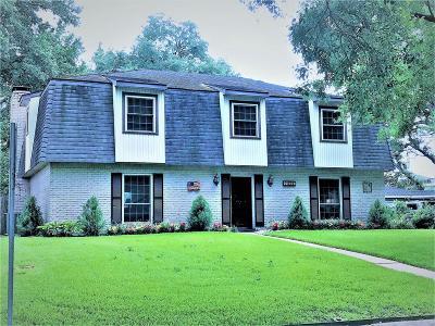 Houston Single Family Home For Sale: 14811 Kimberley Lane