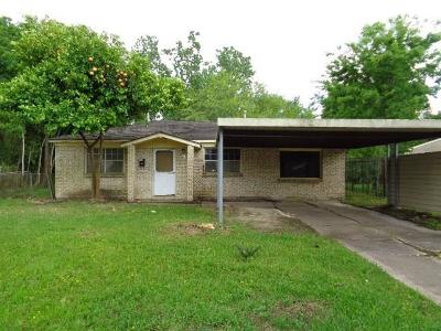 Houston Single Family Home For Sale: 10634 Safeguard Street