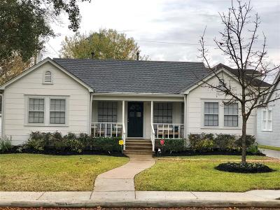 Single Family Home For Sale: 2407 Goldsmith Street