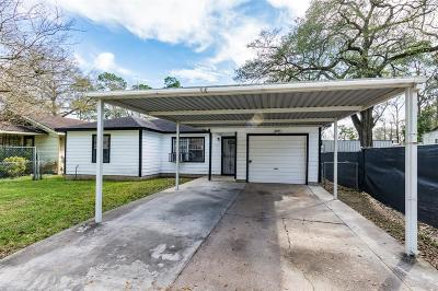 Houston Single Family Home For Sale: 8110 Woodlyn Road