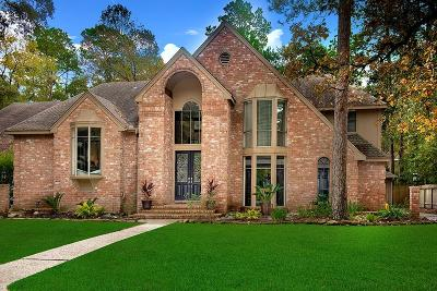 The Woodlands Single Family Home For Sale: 77 Indian Clover Drive