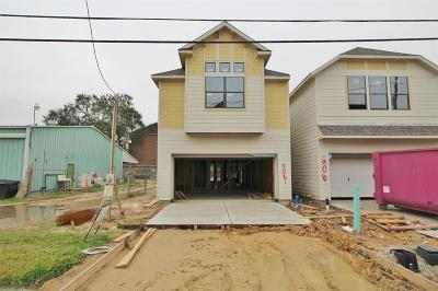 Houston Single Family Home For Sale: 904 W 22nd Street
