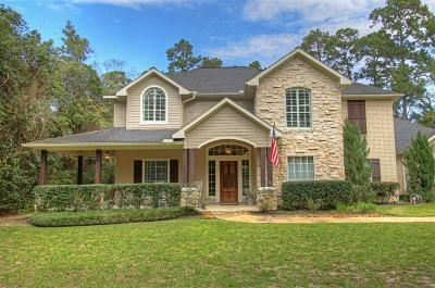 Conroe Single Family Home For Sale: 8705 Sunset Heights Lane