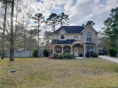 Conroe Single Family Home For Sale: 608 Spring Forest Drive