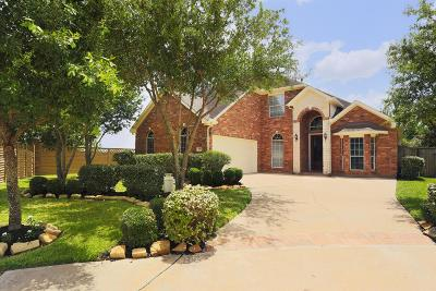 Katy Single Family Home For Sale: 2103 Banister Cove