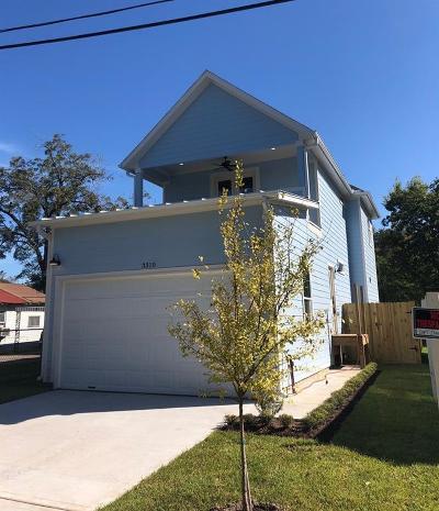 Houston Single Family Home For Sale: 3310 Castor Street