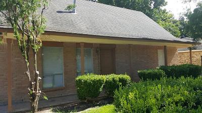 Houston Single Family Home For Sale: 4310 Oakside Drive