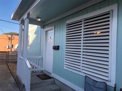 Galveston Rental For Rent: 1511 22nd Street #4