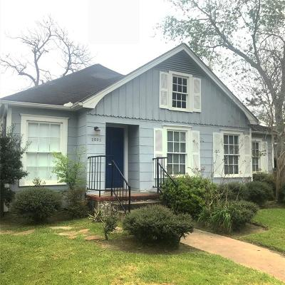 Houston Single Family Home For Sale: 2502 Goldsmith Street
