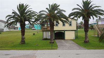 Galveston TX Single Family Home For Sale: $145,000