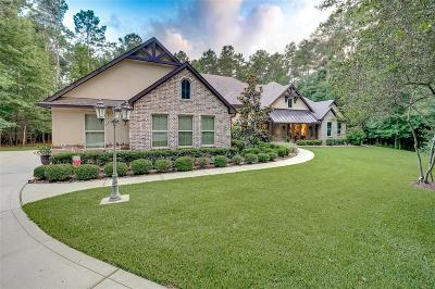 Conroe Single Family Home Pending: 10350 Hunter Creek Lane