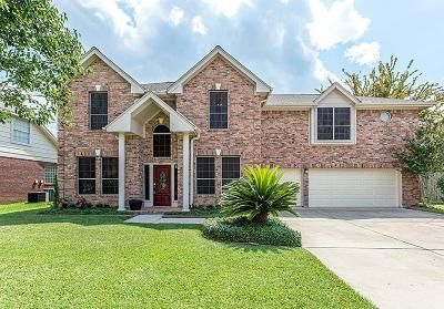 Pearland Single Family Home For Sale: 1810 Oakleaf Circle N