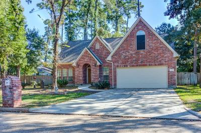 Montgomery Single Family Home For Sale: 3210 Woodchuck Road