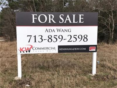 Humble Residential Lots & Land For Sale: Atascocita Road