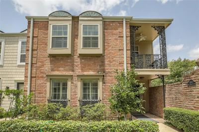 Houston Condo/Townhouse For Sale: 14513 Misty Meadow Lane