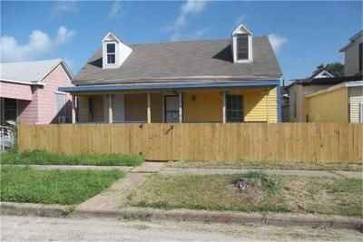 Galveston County Single Family Home For Sale: 3206 Avenue M 1/2 #1